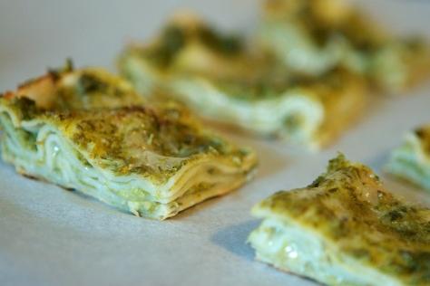 Asparagus Lasagne Bites