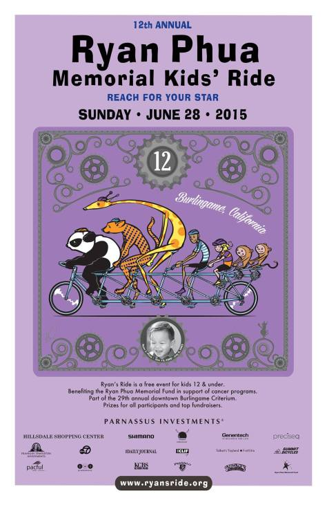 ryan's ride 2015 poster