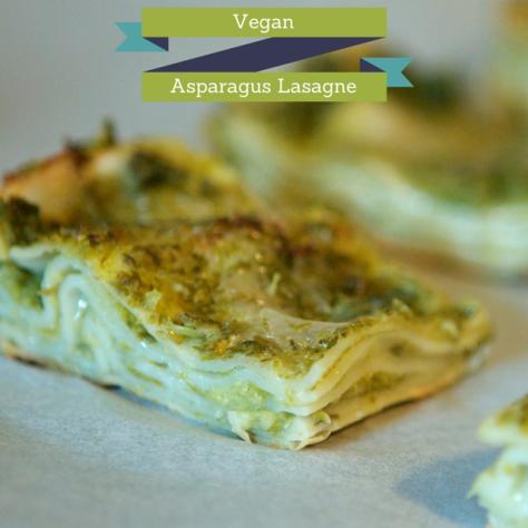 Vegan Asparagus Lasagne